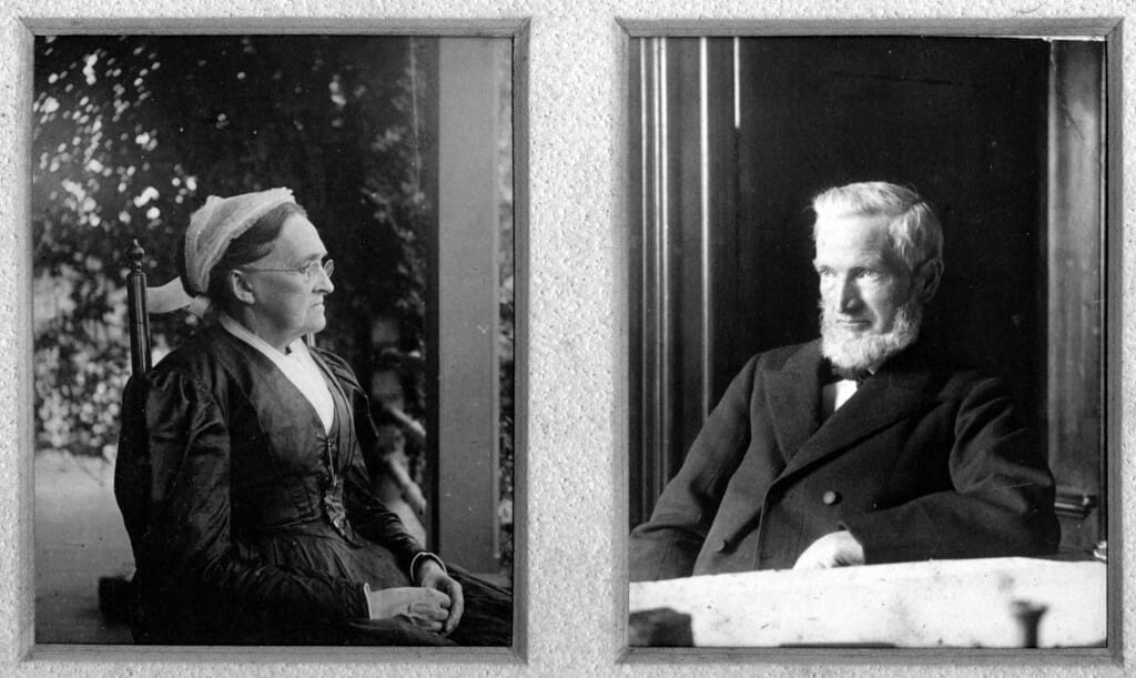 Thomas and Lydia Hall