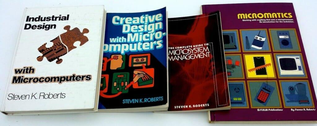My pre-technomadic tomes