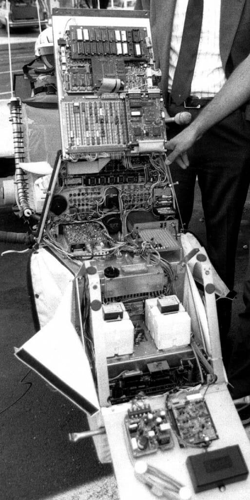 Winnebiko II console internals