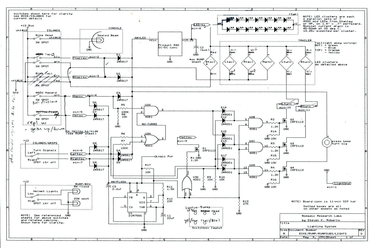 BEHEMOTH lighting schematic - Nomadic Research Labs on alesis ra150 schematic, alesis sr-16 demo, alesis studio 32 schematic,