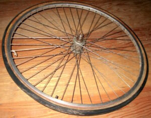 BEHEMOTH Phil Wood 48-spoke wheel