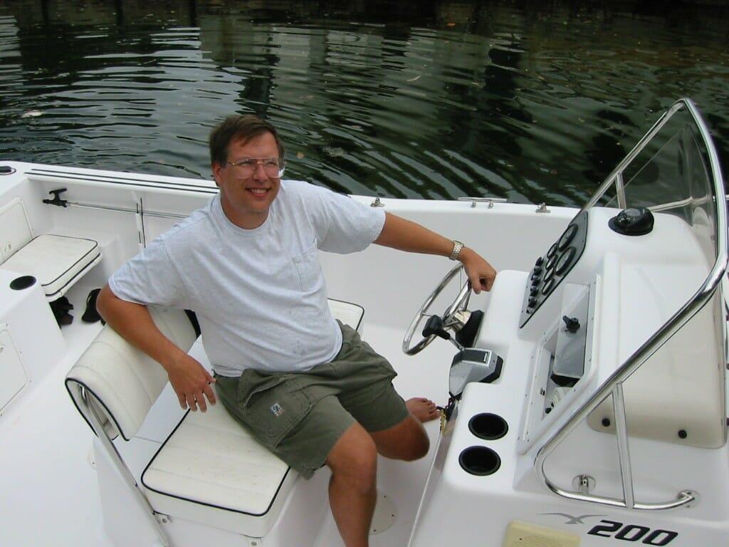 Steve Dimse in 2001