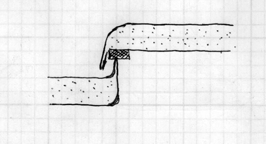 Microship hatch drawing