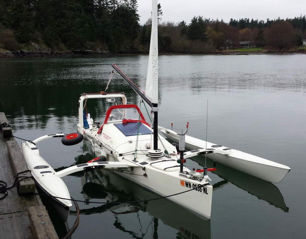 Dockside Microship R2AK test