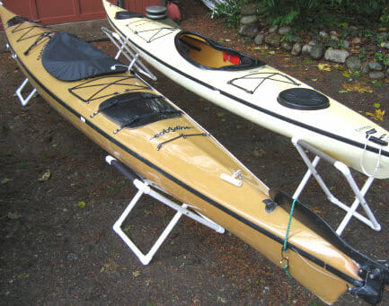 Kayak & dinghy stands