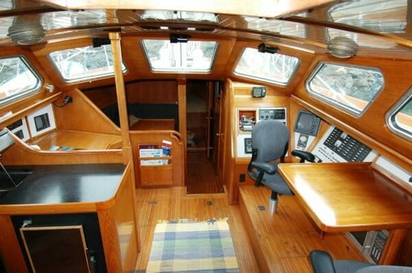 Nomadness Pilothouse