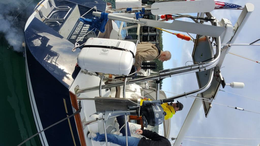 No Pressure departing Friday Harbor