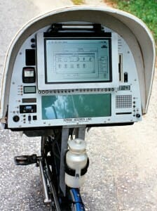 BEHEMOTH console on the road in 1991