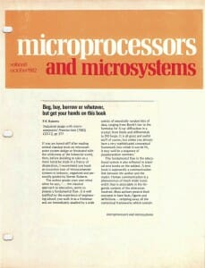 Microprocessors & Microsystems review, page 1