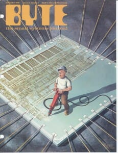 Byte cover, January 1979