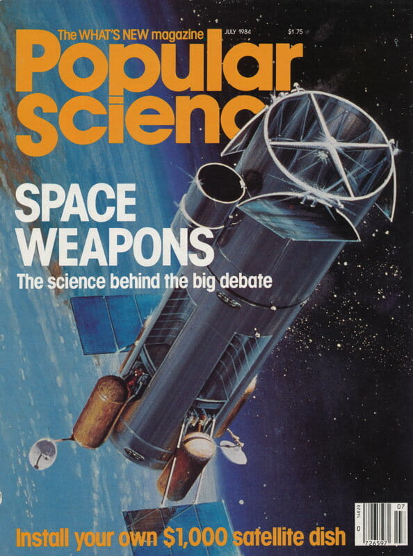 Popular Science cover - July 1984