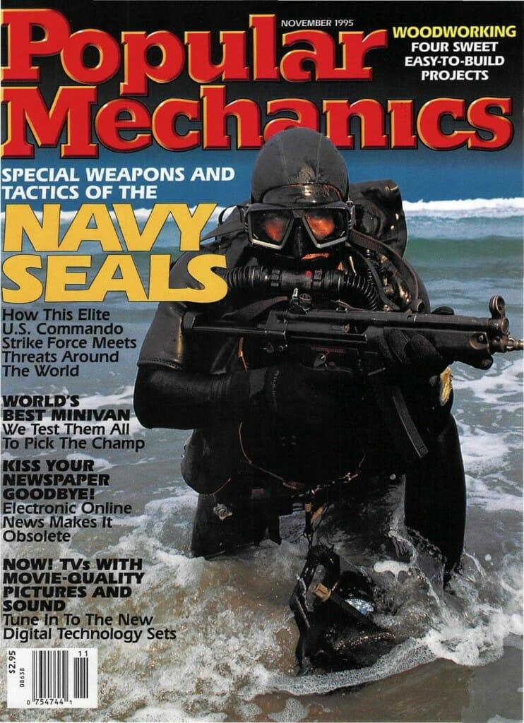 Popular Mechanics - November 1995 cover