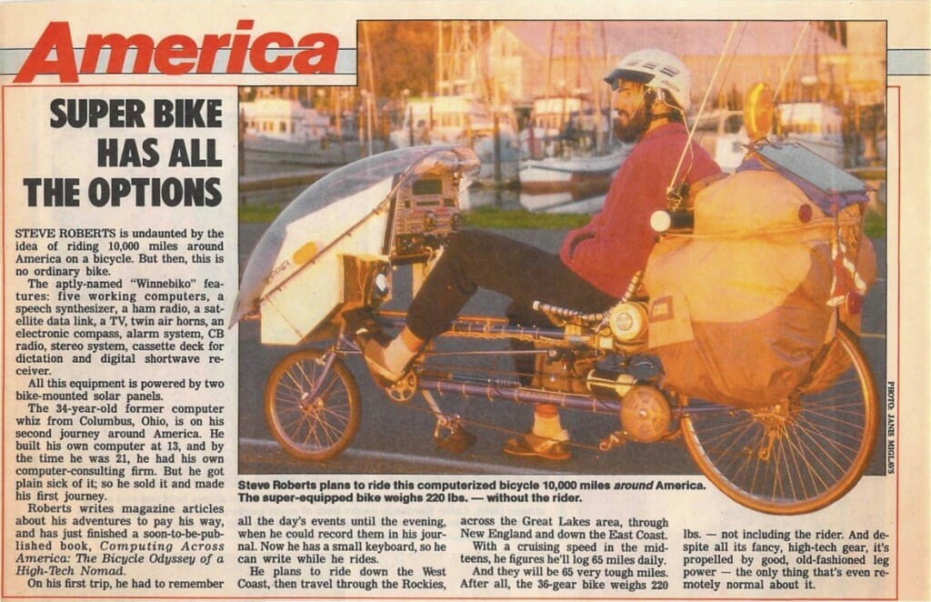 Super Bike Has All the Options - Star, December 1986