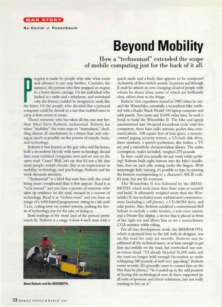 Beyond Mobility - 1