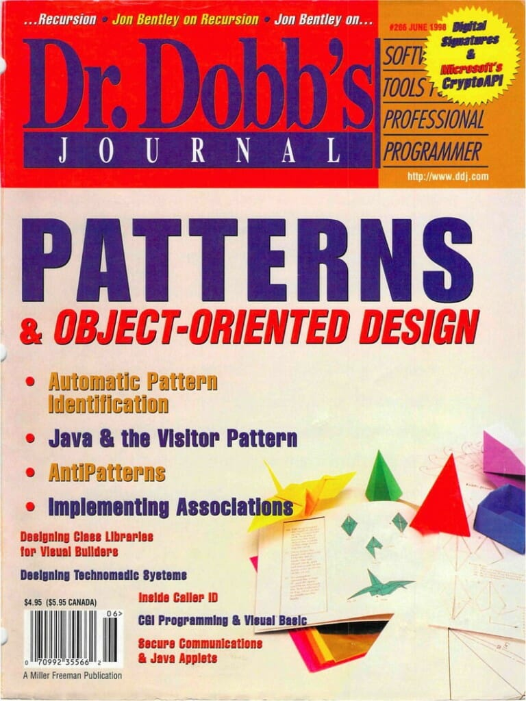 Dr Dobbs cover, June 1998