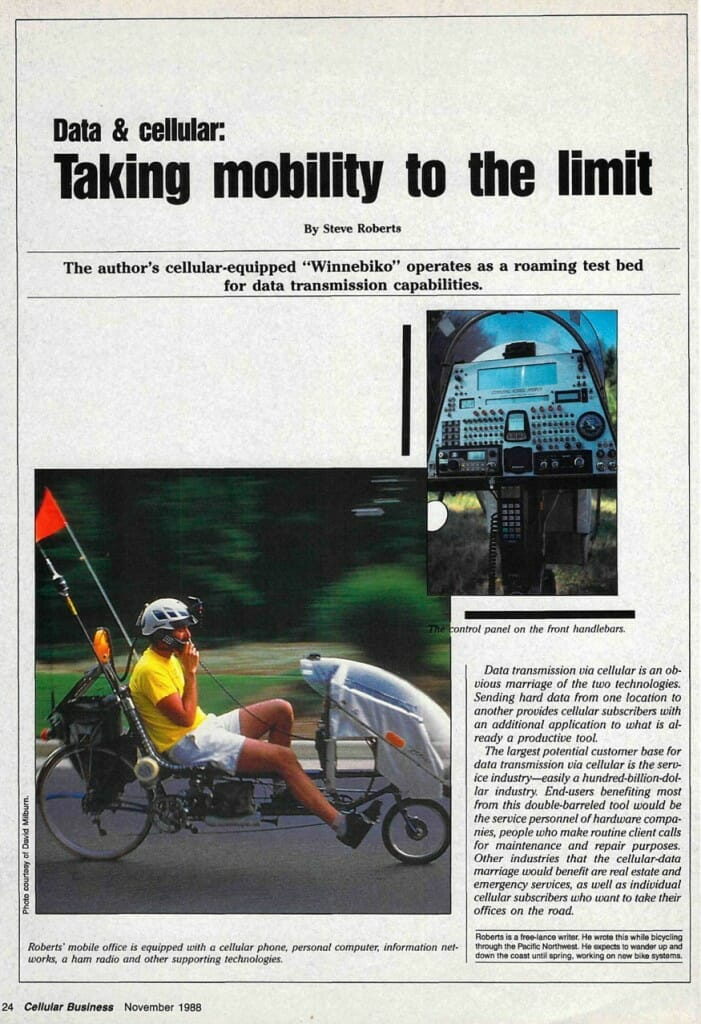 Taking Mobility to the Limit - 1