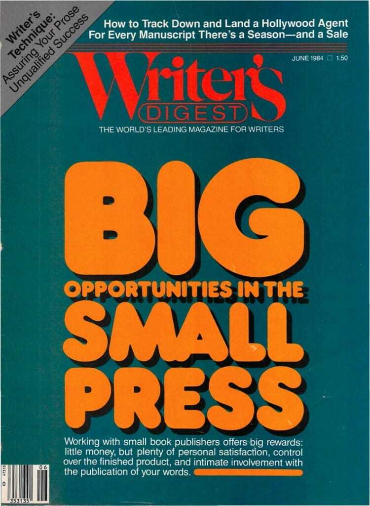 Writers Digest June 1984 cover