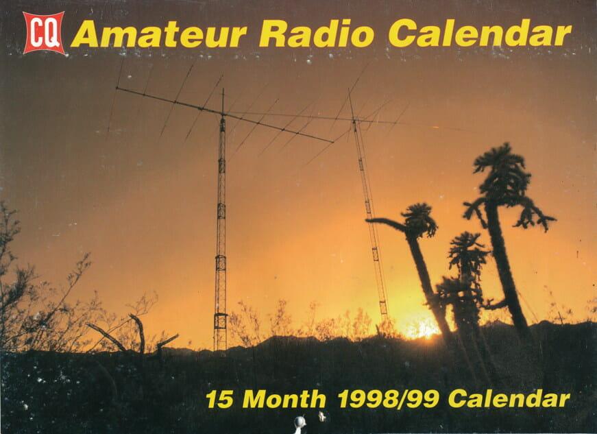 CQ Calendar, 1998 - cover