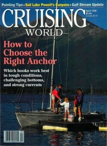 Cruising World, April 1996, cover