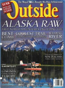 Outside Magazine cover, June 1998