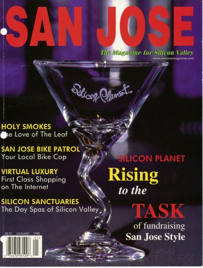 San Jose magazine cover, Jan 1998