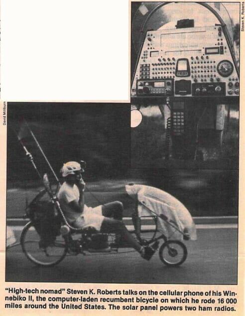Steve Roberts: technobiker - 2