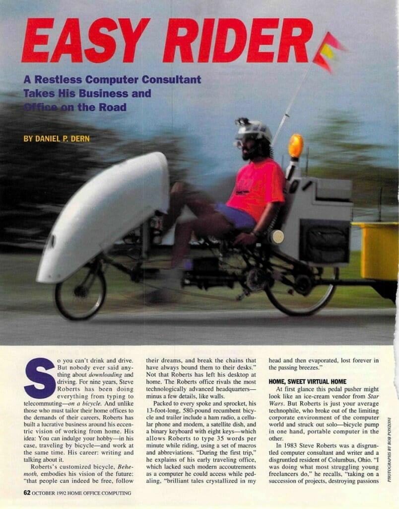 Easy Rider - Home Office Computing - page 1