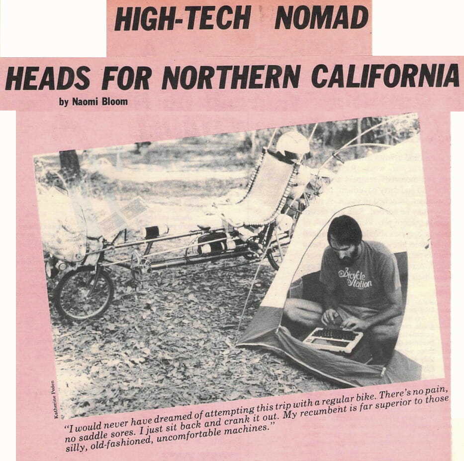High-Tech Nomad Heads for CA - 1