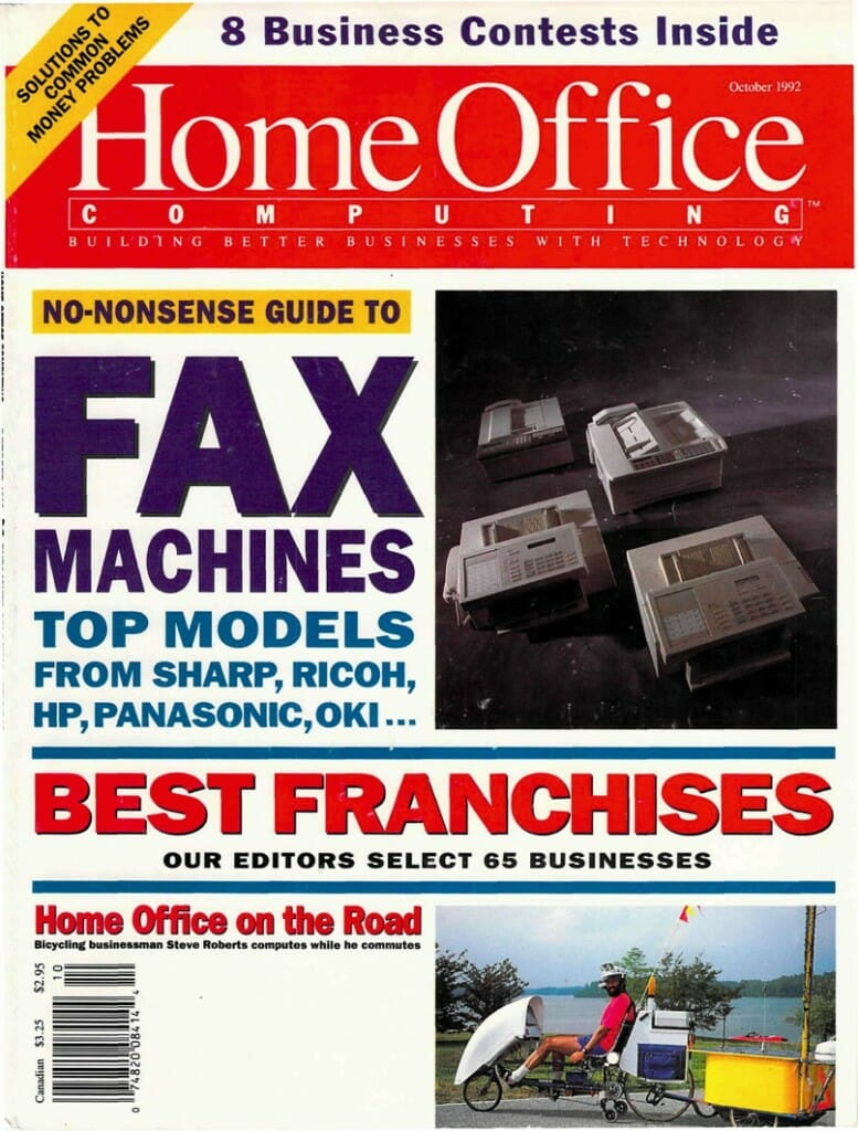 Home Office Computing Oct 92 cover