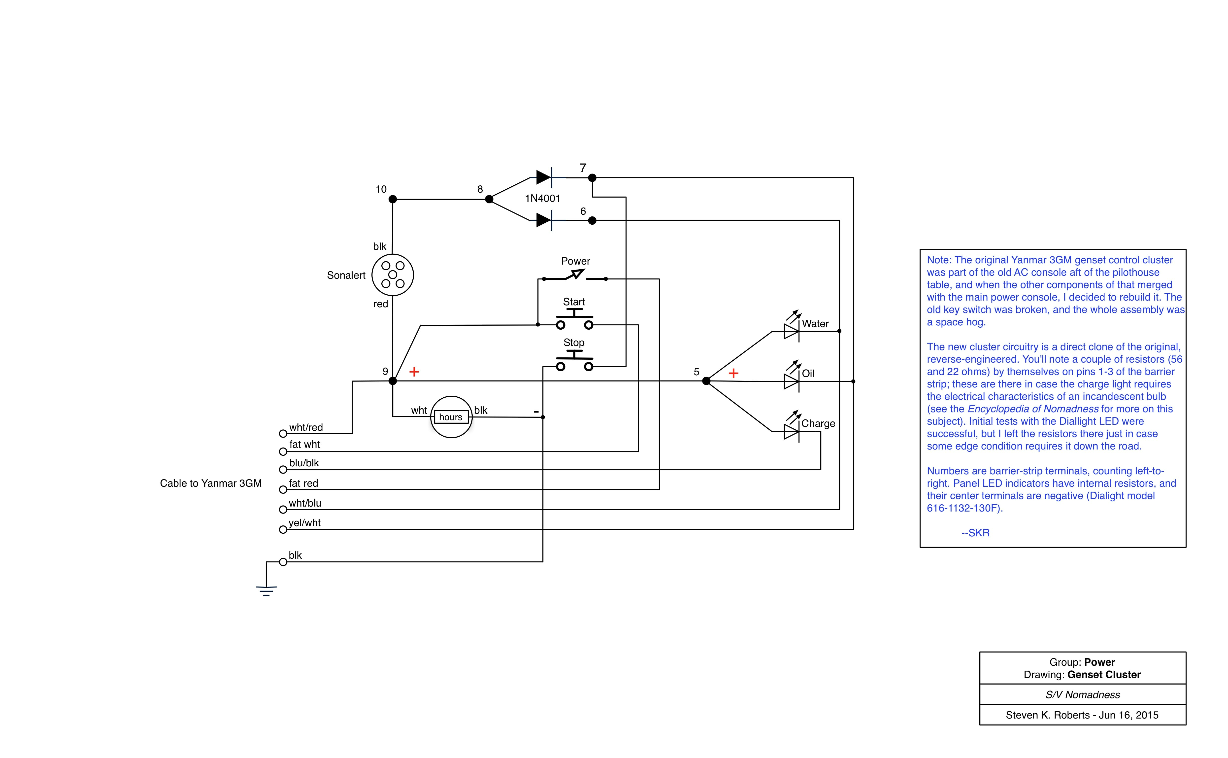 nom schematic genset cluster sailboat power console fabrication nomadic research labs Wire Harness Assembly at mifinder.co