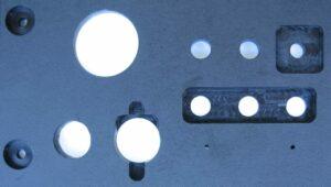 Power panel spot facing