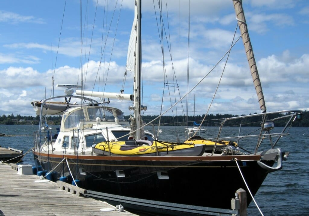 Nomadness in Boston Harbor - Olympia WA