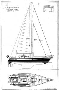 Nomadness sail plan
