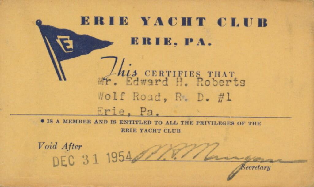 EYC membership card