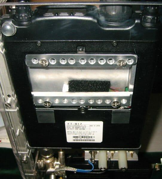 ft-817 mounting