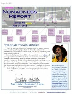 Nomadness Report - Issue 1