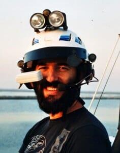 SKR with BIU helmet