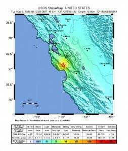 USGS_Shakemap_-_1989_Loma_Prieta_earthquake_(August_1989_foreshock)