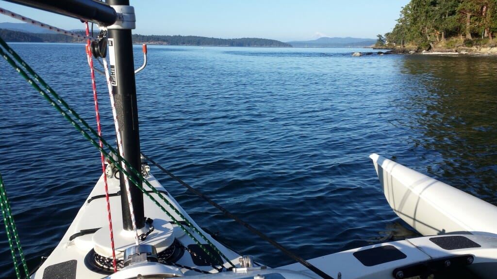 Microship in the San Juan Islands