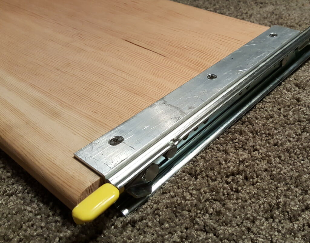 Drawer channel and slide
