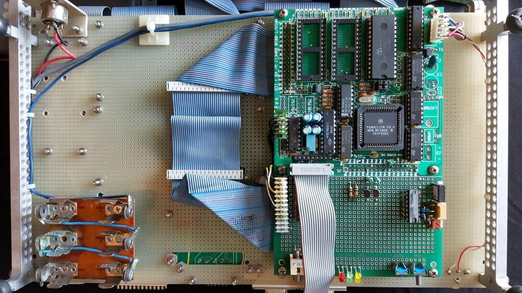 Microship Control FORTH board
