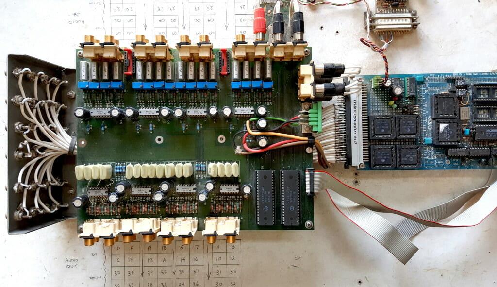 Microship Audio and Video Crossbars