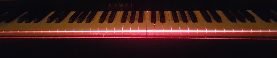 laser piano