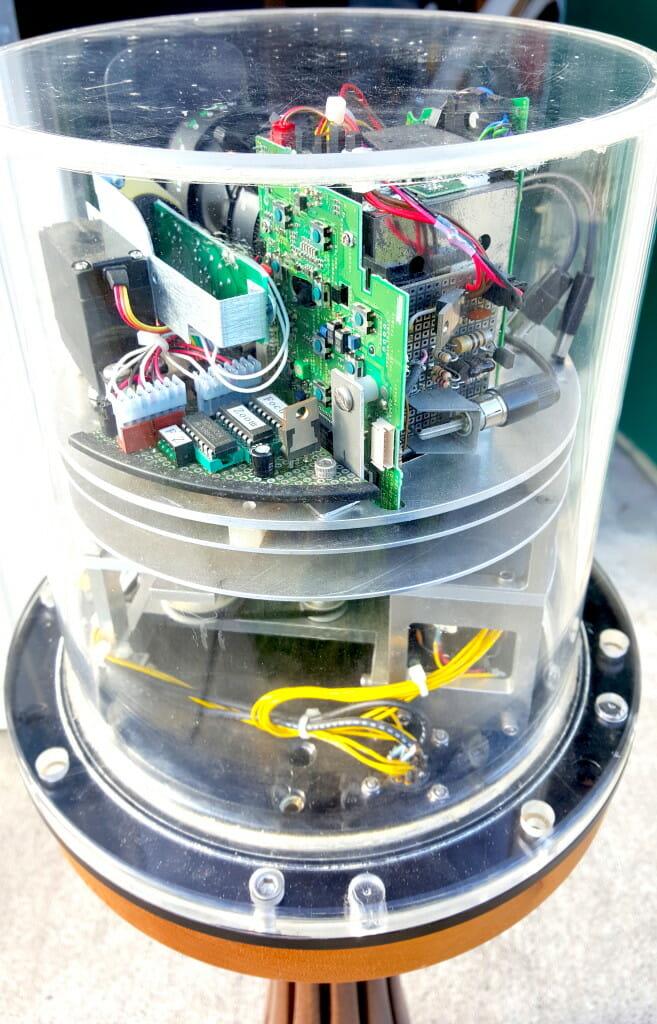 Microship video turret