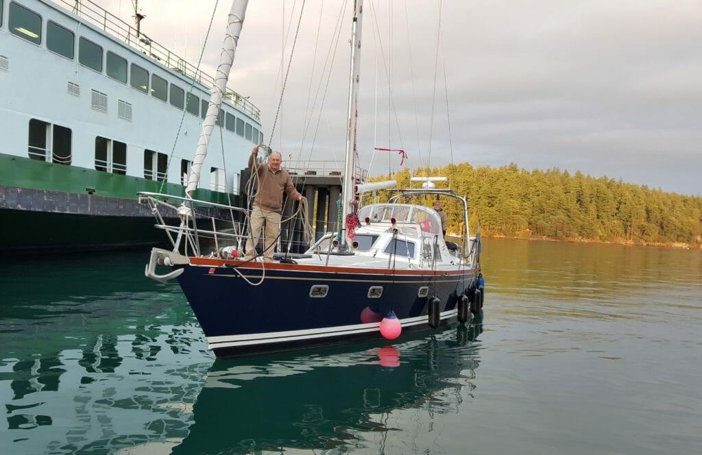 No Pressure returning to dock