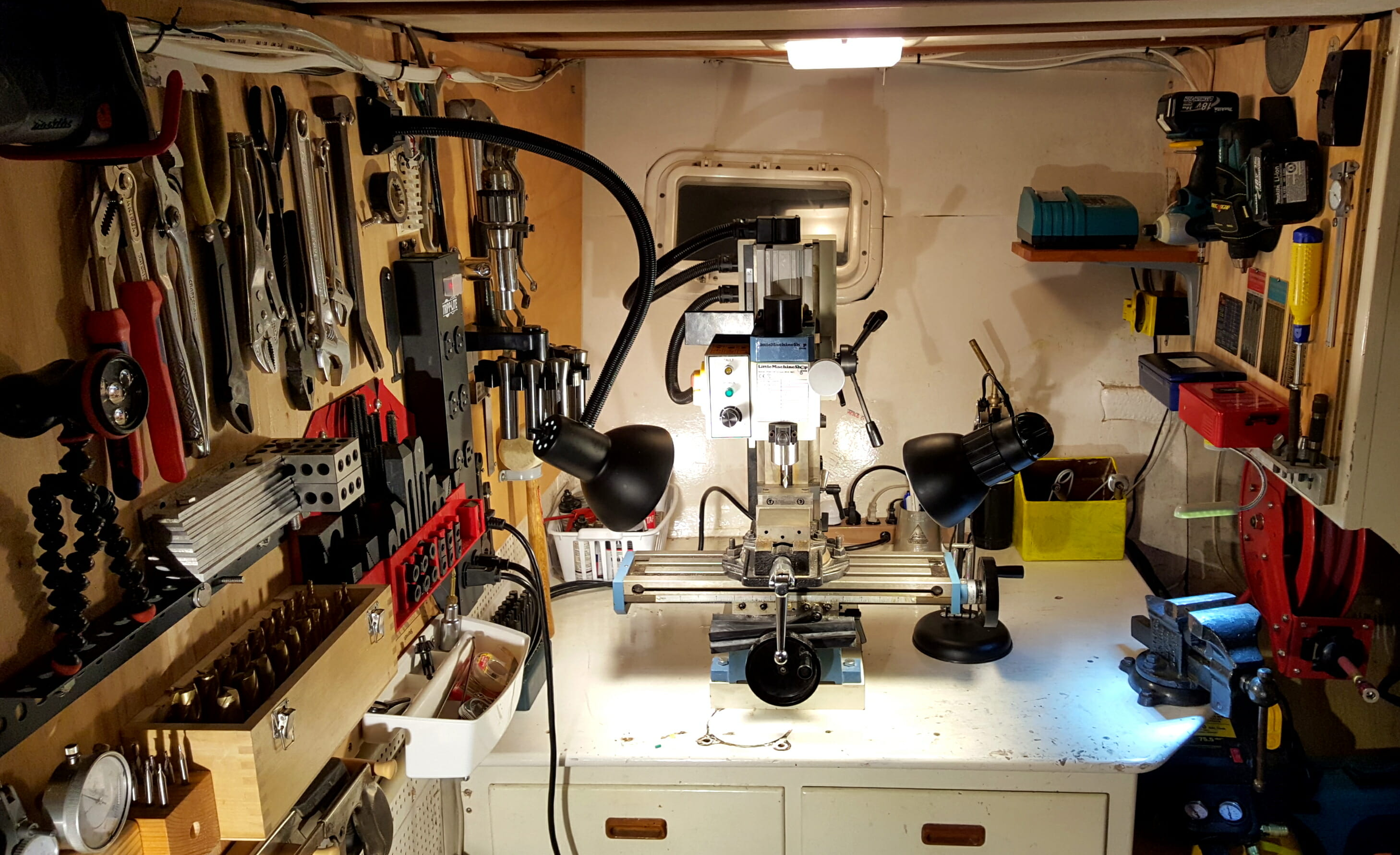 The boat machine shop nomadic research labs for Outboard motor machine shop