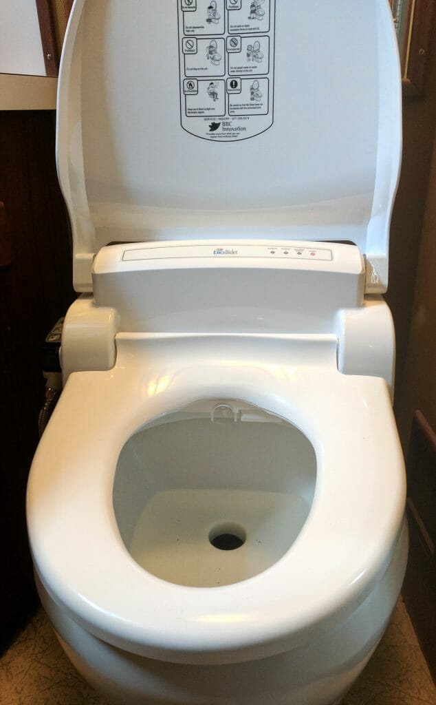 The Boat Bidet Nomadic Research Labs