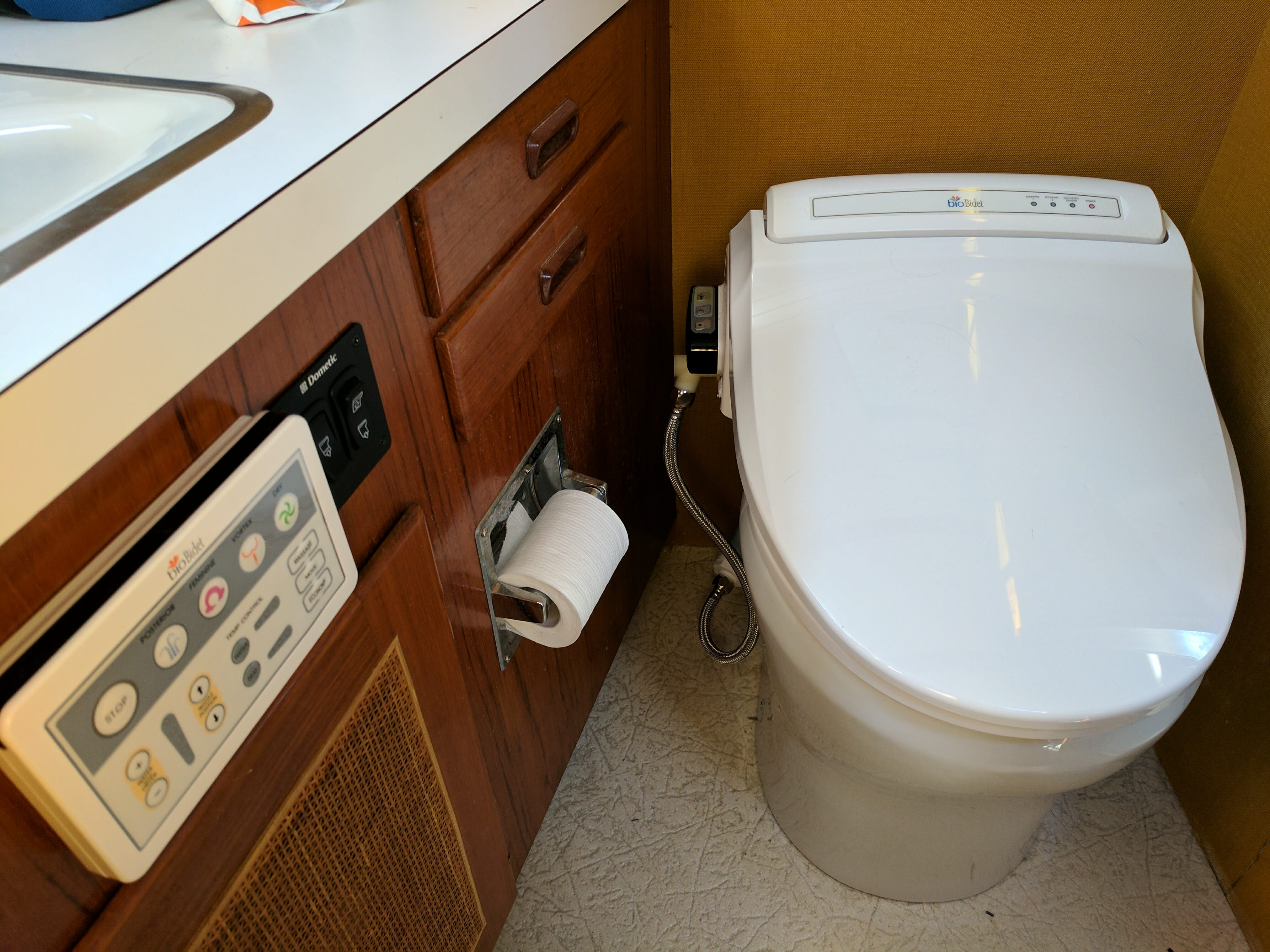 The Boat Bidet - Nomadic Research Labs