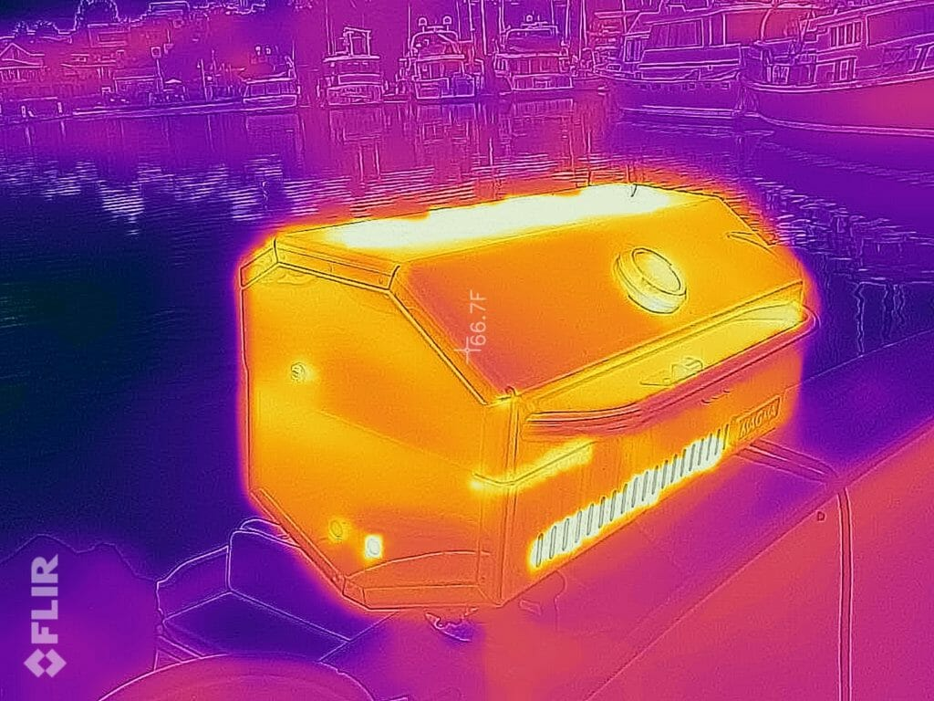 Using a FLIR ONE Thermal Camera Aboard - Nomadic Research Labs