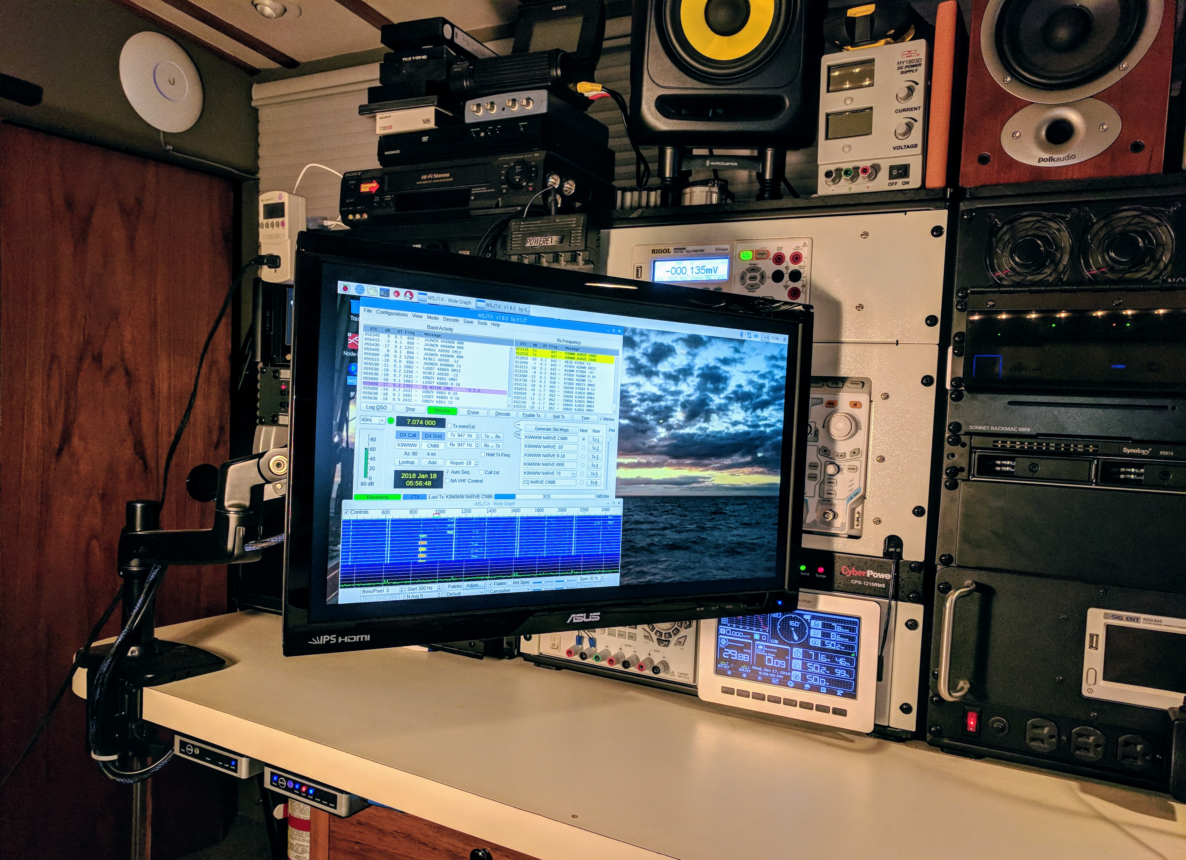 Maritime Mobile FT8 Amateur Radio - Nomadic Research Labs